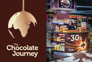 Campaña Chocolate Journey Madrid